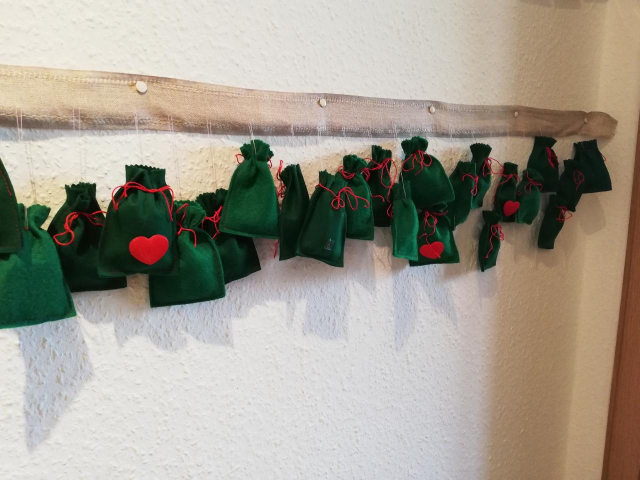 Weihnachten als Alleinerziehende, Geschenke, Adventskalender