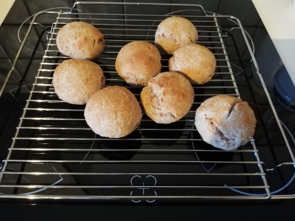 Brot, Brötchen, selber backen, selbstgebacken, Biobrot, zuckerfrei
