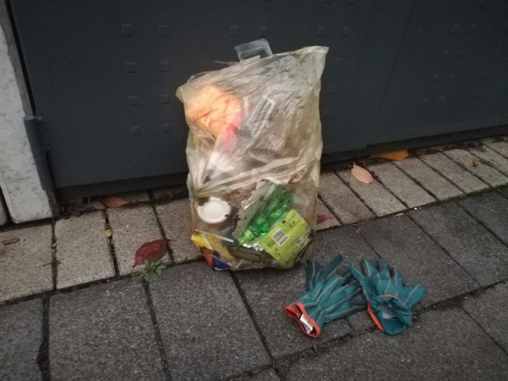 Müll sammeln, Bielefeld, Plogging, Park, Umweltschutz